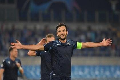 Lazio se impuso sin problemas de local ante el Zenit de Rusia Foto: REUTERS/Alberto Lingria