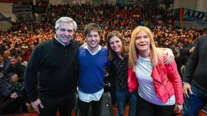 Alberto Fernández y Axel Kicillof, dos piezas claves del peronismo en las próximas elecciones generales, arrancaron la campaña bonaerense en Mar del Plata