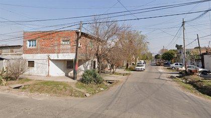 Las calles Pasco y Felipe Moré, en la ciudad santafesina de Rosario.