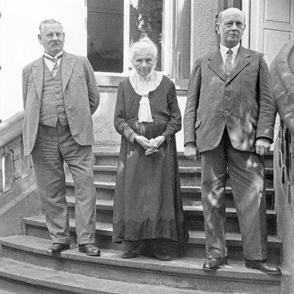 Tanto Carl como Bertha Benz, unos años después, entraron al Salón de la Fama de la industria automotriz. (Foto: Mercedes-Benz)