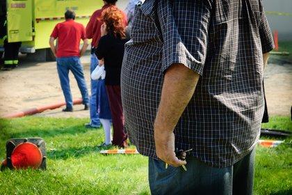 13/03/2019 Hombre con obesidad. Sobrepeso. Barriga ESPAÑA EUROPA MADRID SALUD IMEO