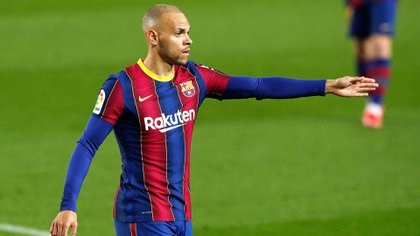 """De su """"vergüenza"""" en la infancia por usar una silla de ruedas a jugar en el Barcelona: las confesiones de Martin Braithwaite"""