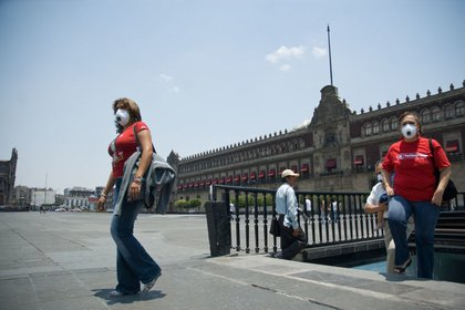 El metro Zócalo es la estación principal para llegar al Centro Histórico de la CDMX (Foto: Ricardo Castelan/Cuartoscuro.com)