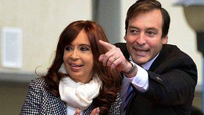 Martín Soria junto a Cristina Kirchner