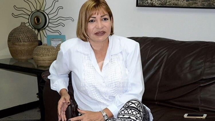 La diputada opositora Yanet Fermín. (Cortesía)