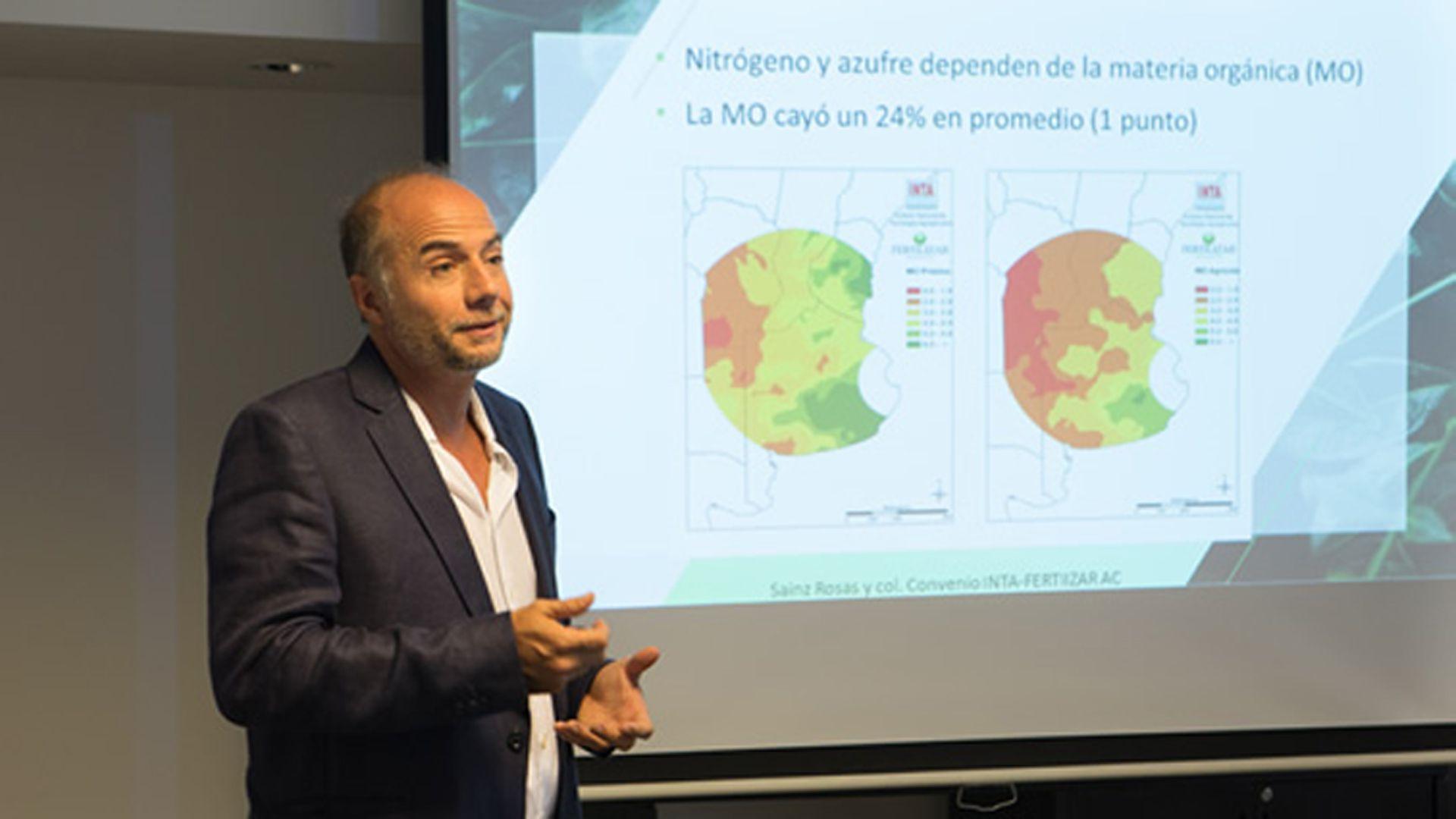 Jorge Bassi, presidente de la Asociación Civil Fertilizar