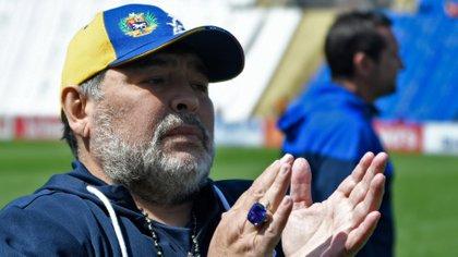El anillo que le regalaron en Bielorrusia tiene un valor estimado de unos 300 mil dólares (Foto: AFP)