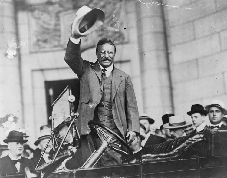 Theodore Roosevelt (Shutterstock)