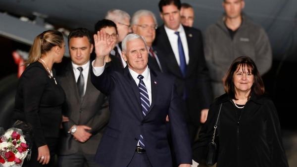 El vicepresidente de EEUU llegó a Israel en el marco de una gira por Medio Oriente (EFE)