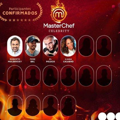 Los confirmados de Mastechef Celebrity