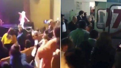 El accidente de Sergio Denis en Tucuman y el traslado al hospital