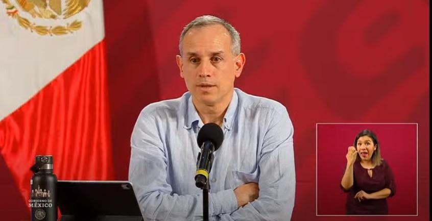 El subsecretario Hugo López-Gatell, recordó que será una epidemia larga, pese a que se acabe la Jornada Nacional de Sana Distancia (Foto: SSa)