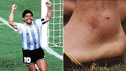 El calvario que vivió Maradona en el Mundial de 1990