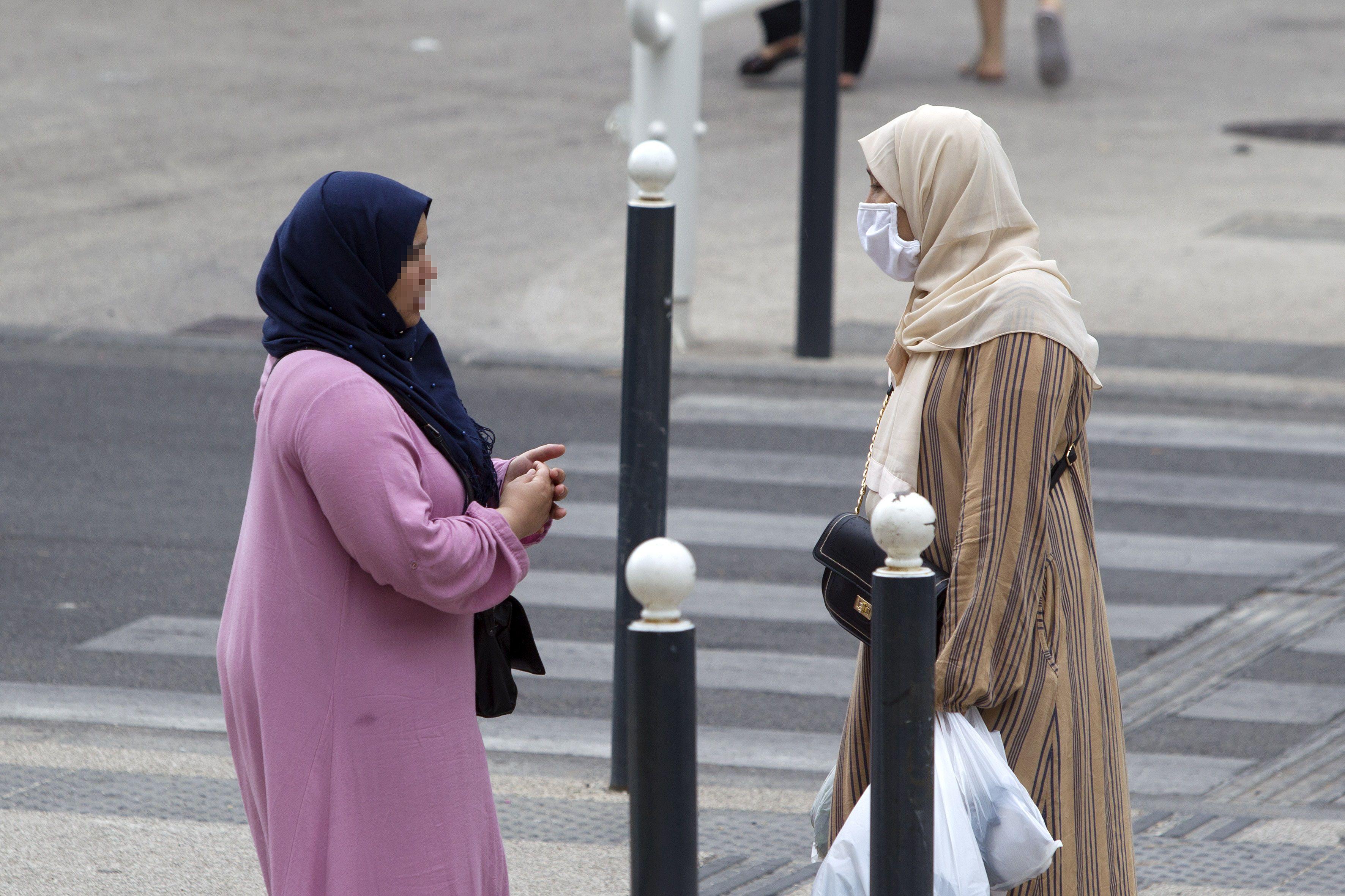 28/07/2020 Mujeres con velo en Francia.POLITICA GUILLAUME BONNEFONT / ZUMA PRESS / CONTACTOPHOTO