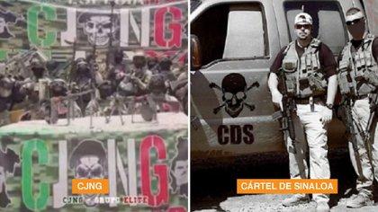 El sangriento intercambio de mensajes entre el Cártel de Sinaloa y el CJNG: restos en bolsas y una ejecución