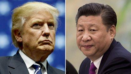 Donald Trump y Xi Jinping (Getty)