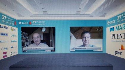 Malamud habló con Morales Solá en el IAEF