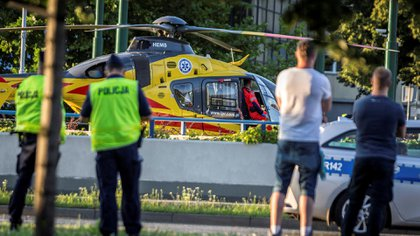 Jackobson fue trasladado en coma inducido al hospital (Reuters)