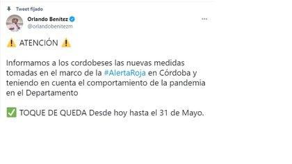 Medidas Córdoba