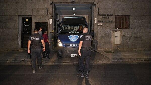 La Policía y los peritos estuvieron en la morgue (Gustavo Gavotti)