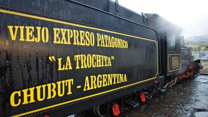 La vieja máquina de 1922 es un testimonio vivo de un medio de transporte central para el desarrollo nacional y particularmente para el poblado de la Patagonia (Secretaria de Turismo Esquel)