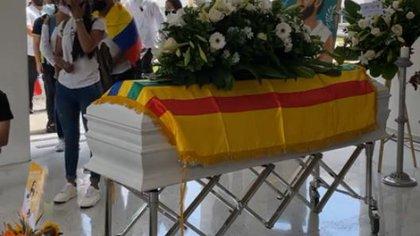 Un último adiós: así fue el sepelio y grado póstumo de Lucas villa