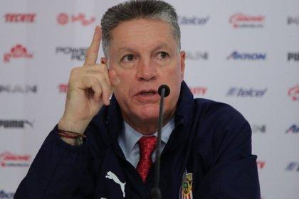 Ricardo Peláez, presidente deportivo del Club Guadalajara (Foto: Archivo)
