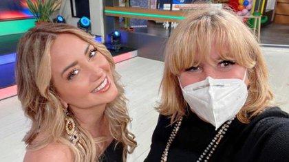 Andrea Legarreta fue quien confirmó que Magda estaría al frente del programa una vez más (Foto: Instagram @magdaproducer)