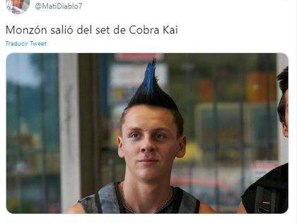 Los mejores memes del look de Monzón