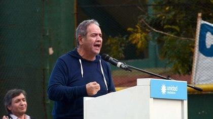 El titular de la Asociación Bancaria, Sergio Palazzo.