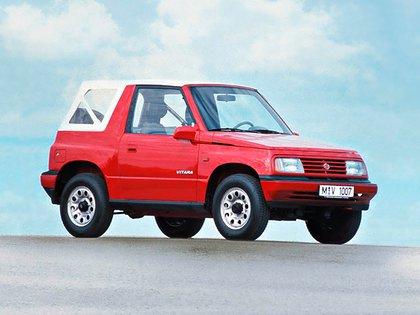 Uno de los primeros Vitara que se conocieron en el mundo (Suzuki)