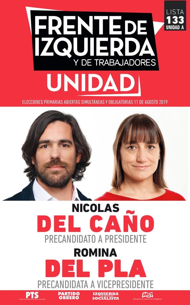 Nicolás del Caño y Romina Del Plá – Frente de Izquierda