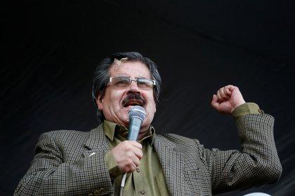 El rector de la Universidad Mayor de San Andrés y líder de la Comisión Nacional de Defensa de la Democoracia, Waldo Albarracin, es una de las voces que está reclamando por la unidad opositora (REUTERS/David Mercado)