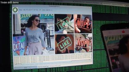 Captura de la demo Thinder Drift que hicieron los investigadores de seguridad para demostrar la vulnerabilidad del sistema