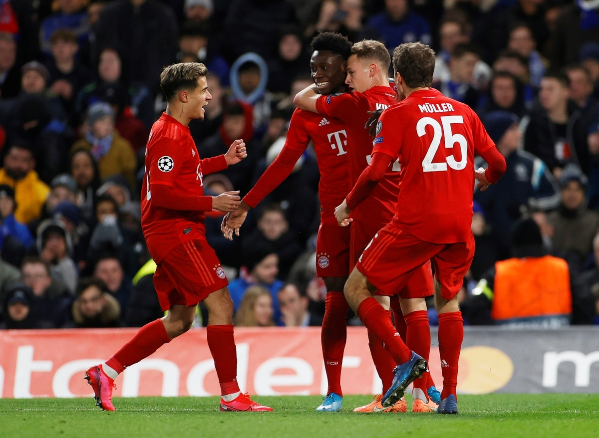 El Bayern Munich goleó 3-0 al Chelsea en Londres por los octavos de la Champions League - Infobae