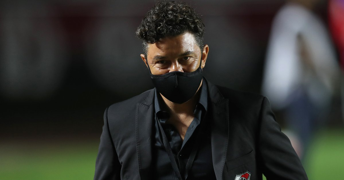Marcelo Gallardo no quedó conforme con el rendimiento de River y le envió un dardo a la organización de la Copa de la Liga Profesional  - Infobae