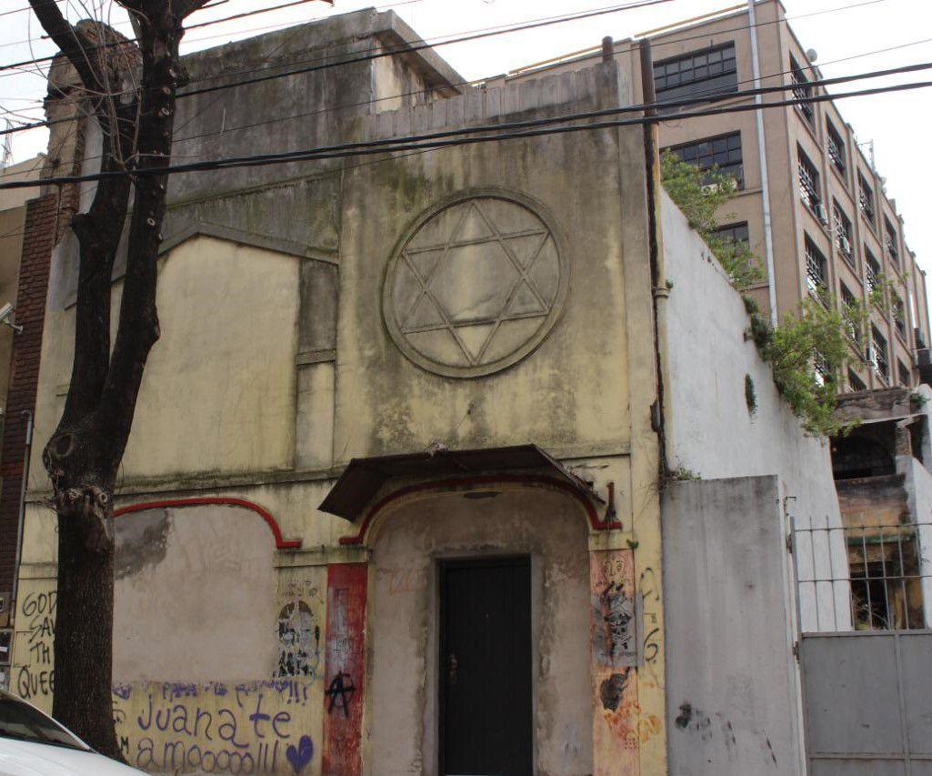 Sinagoga Kneseth Israel también está en la zona San Telmo: Magallanes 1265.