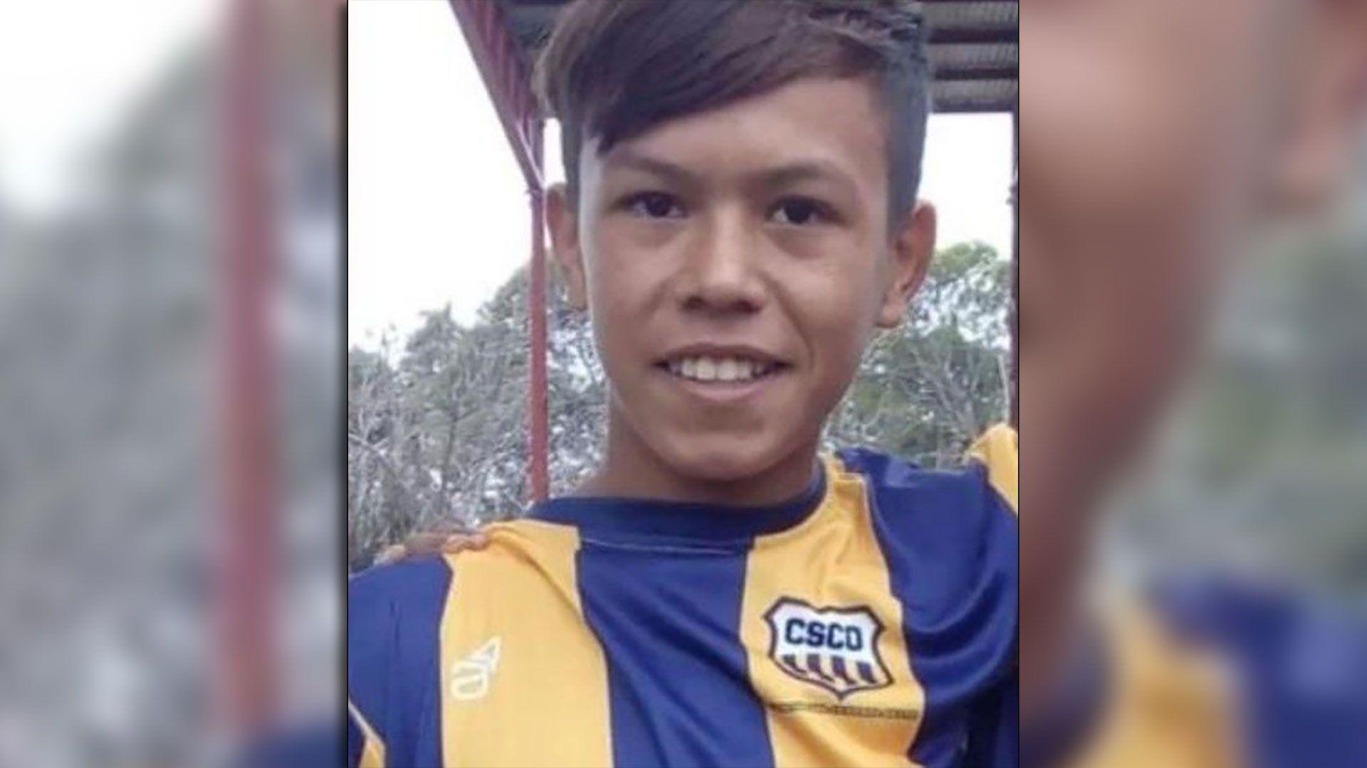 Diego Román tenía 12 años