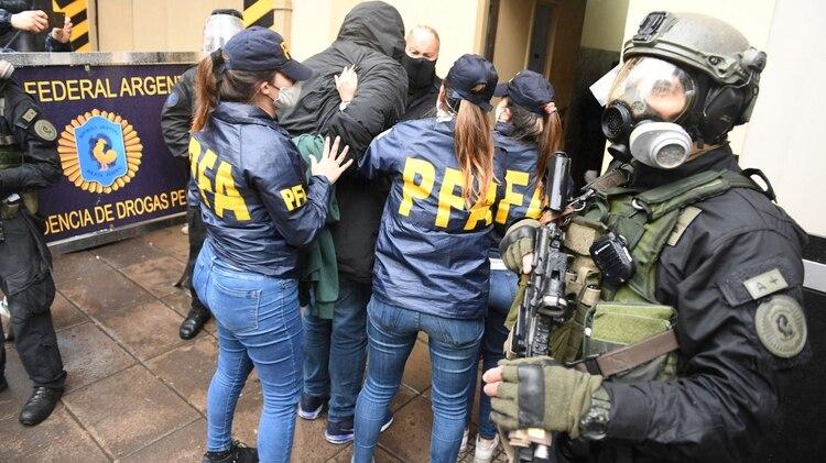 Un ex espía detenido, que será indagado mañana junto al resto de los acusados (Maximiliano Luna)