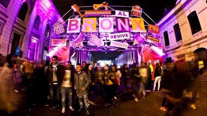 Entrada al Bronx en uno de los eventos culturales realizados en 2018.