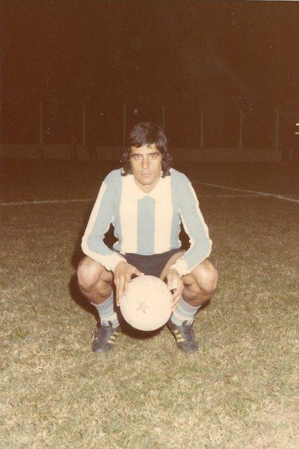 Guerini se destacó en Boca y también jugó en el Málaga y en el Real Madrid en España, pero su mayor logro, insiste, fue el gol a la selección paraguaya para clasificar al Mundial de Alemania 74. (Archivo Gustavo Farías)