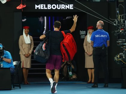 Federer se despidió del Abierto de Australia - REUTERS/Kai Pfaffenbach