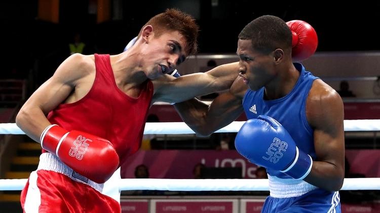 Ramón Quiroga fue el primer medallista argentino en la disciplina en losactuales juegos Panamericanos de Lima (Foto: Reuters)