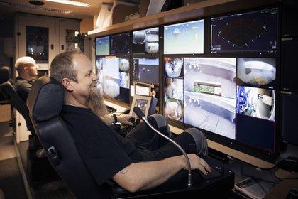 En marzo, un equipo internacional de científicos exploró la nave prístina de forma remota