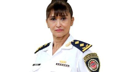 La nueva jefa de los policías en la capital de Córdoba (@gobdecordoba)