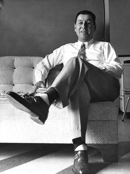 Juan Domingo Perón en Caracas, Venezuela
