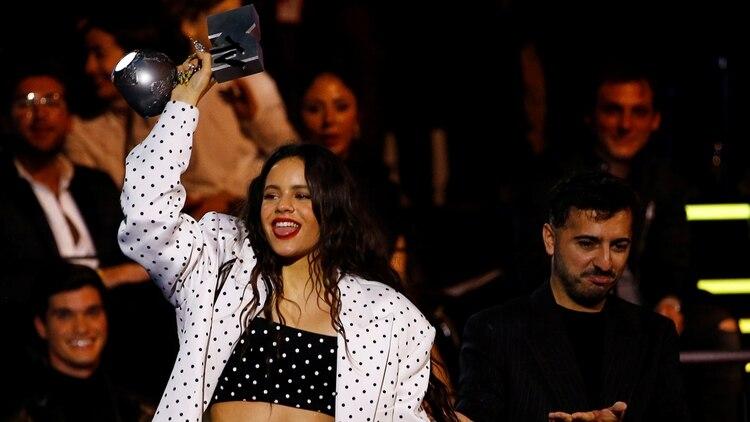 Rosalía en los MTV Europe Music Awards 2019 en Sevilla