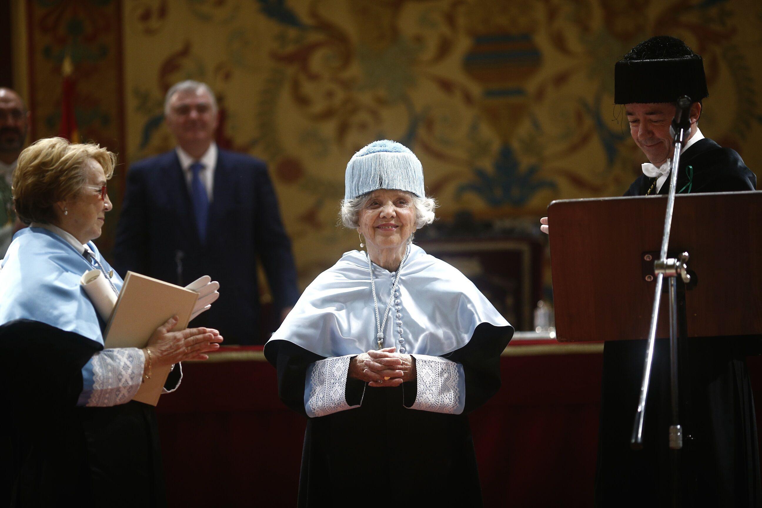 30/01/2015 Elena Poniatowska, honoris causa por la Universidad Complutense EUROPA ESPAÑA CULTURA