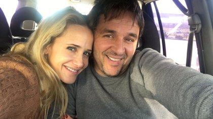Julieta Prandi y Claudio Contardi