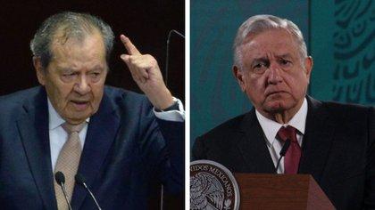 Muñoz Ledo comparó a AMLO con Hitler y a la 4T con el partido Nazi